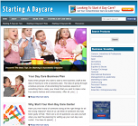 "Profitable ""Starting A Daycare"" Turnkey Niche Website For Sale"